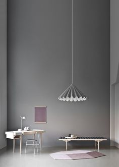 Dancing Pendant Lamp by Menu - made of PET felt