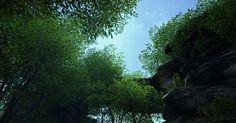 UE4 - forest environment 'Green Arc' WIP