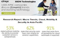 #Research Report: #Macro  Trends, #Cloud ,  #Mobiliy & #Security in #Asia#Pacific .