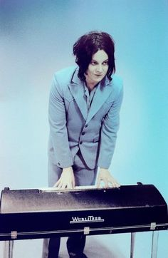 Jack White! Btw finally working on my iPad... Boy, I love it.