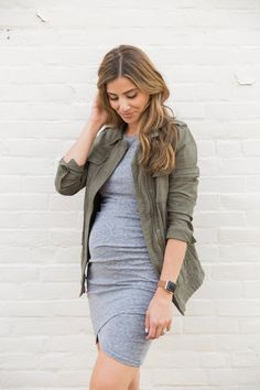 Expecting? Don't want to invest in maternity dresses? Here are some Tips for Wearing Non-Maternity Dresses and what to look for when purchasing!