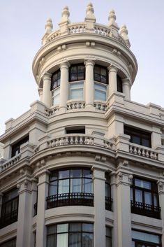 "italdred: ""Madrid / Spain, Gran Via. Architecture details (by wwwuppertal) """