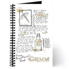 Grimm Aunt Marie Book Journal