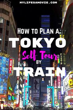 Tokyo has a sh*t ton of things to see any do, and one look at the train network may make you cry...but here's a REALLY easy way to make a self-tour of Tokyo using the train!
