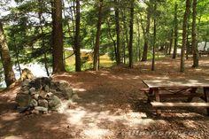 Rollins Pond Campsite #158