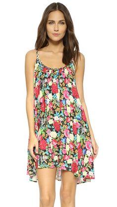 Wildfox Flower Babydoll Dress