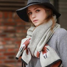 Promotion women winter scarves High grade imitation cashmere fox scarf thick warm scarves 190*67CM 398gram Free shipping  #fashion #streetstyle #style #dress #instafashion #instalike #shopping #glam #beauty #ootd