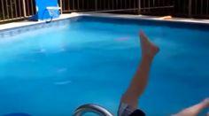 Recopilación de caídas en piscinas