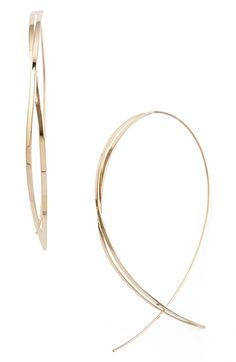 Lana+Jewelry+'Twist+Upside+Down'+Large+Hoop+Earrings+available+at+#Nordstrom