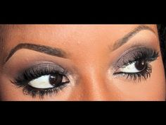 5 Minute Smokey Eye **lovee this tutorial and it's perfect for those with darker skin complextion
