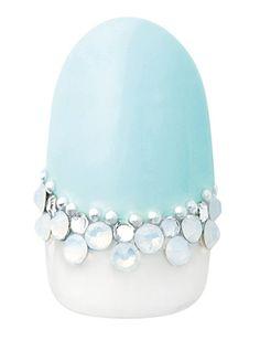 Blue nails with sparkles yes plz Blue Nails, My Nails, Cinderella Nails, Asian Nails, Beach Wedding Photos, Crystal Nails, Nail Tutorials, Tiffany Blue, Nail Inspo