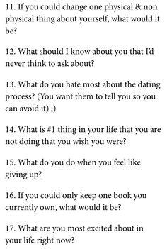 Should i keep dating him questions