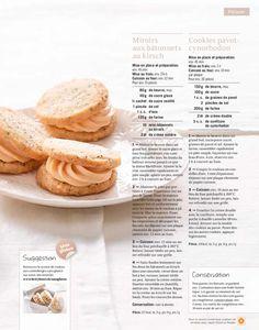 Shortcut - Cookies pavot-cynorhodon, Miroirs aux bâtonnets au kirsch Pancakes, Cookies, Breakfast, Food, Edible Plants, Powdered Sugar, Vanilla Sugar, Mirrors, Kitchens