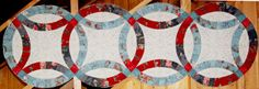 Forever Yours Table Runner, Quiltworx.com, Made by Certified Instructor Sue Wilson.