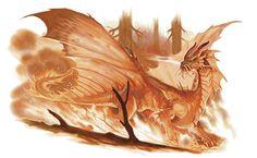 Aerosclughpalar | Forgotten Realms Wiki | FANDOM powered by Wikia Gold Dragon, Blue Dragon, Forgotten Realms, Mermaids And Mermen, Satyr, Imagine Dragons, Sculptures, Creatures, Painting