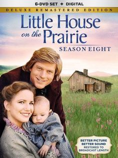 Michael Landon & Melissa Gilbert & William F. Claxton & Victor French -Little House On The Prairie Season 8 Deluxe Remastered Edition Victor French, Melissa Gilbert, Ingalls Family, Tv Show Casting, Michael Landon, Laura Ingalls Wilder, Popular Tv Series, Old Tv Shows, Season 8
