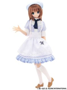 Azone Excute Doll Pure Neemo Sahras A La Mode Maya Welcome to M's Bakery 1 6   eBay