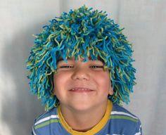 Pour faire de nos enfants de vrais petits clowns ! #wig #clown #DIY #Wool