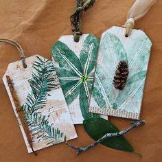 Energize Your Artwork with Natural Texture - Cloth Paper Scissors