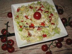 Moje domowe kucharzenie: Surówka z kapusty pekińskiej