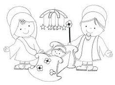DIBUJOS DE BELENES DE NAVIDAD COLOREAR INFANTIL - Busca de Google