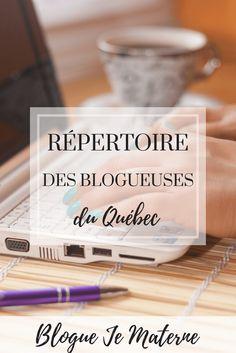 Le petit Répertoire des blogueuses du Québec, Blogue Je Materne. Découvrez de la bonne lecture ainsi que le talent du Québec!