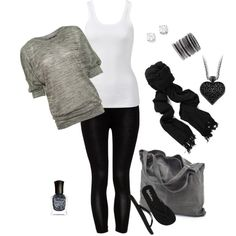 Comfy road trip outfit!