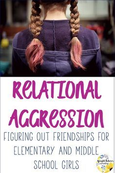 Relational Aggression activities and games for elementary and middle school girls