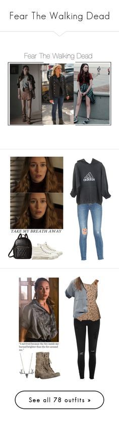 """""""Fear The Walking Dead"""" by shadyannon ❤ liked on Polyvore featuring Vera Bradley, Lovers + Friends, adidas, Vans, River Island, AllSaints, Current/Elliott, Madewell, Doublju and Topshop"""