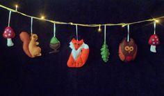 Woodland nursery decor woodland animals fairy by ButtonOwlBoutique