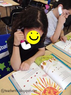I have been wanting to make whisper phones for my class to use during Read to Self and guided reading groups. I found this picture in p. Guided Reading Groups, Reading Strategies, Reading Activities, Reading Skills, Teaching Reading, Reading Resources, Literacy Activities, Whisper Phones, Read To Self