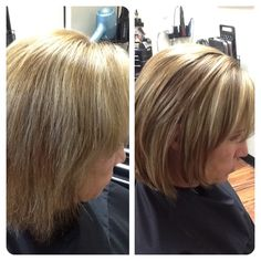 From stressed hair to healthy, dimensional color.