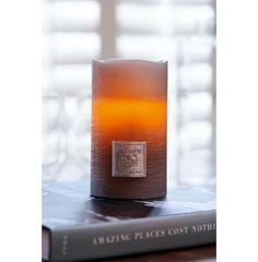 Classic LED Candle grey 7,5x12,5 | Rivièra Maison
