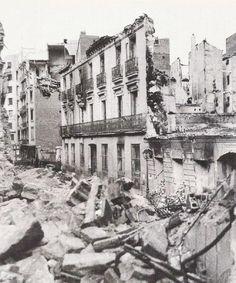 old Madrid. Civil War photos