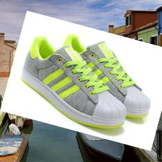 low priced 0a4fe 748ac Adidas Superstar 2 Men Sportswear grey green HOT SALE! HOT PRICE!
