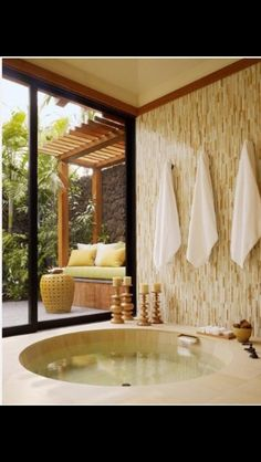 Zen garden bathroom