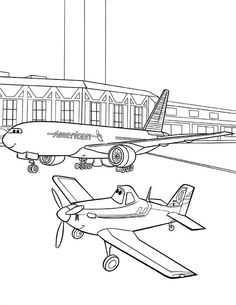 28 Airport Coloring Pages Ideas Coloring Pages Online Coloring Coloring Pages For Kids