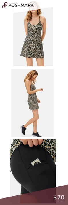 Check out this listing I just found on Poshmark: NWOT Outdoor Voices Leopard Print Exercise Dress. #shopmycloset #poshmark #shopping #style #pinitforlater #Outdoor Voices #Dresses & Skirts Plus Fashion, Fashion Tips, Fashion Trends, I Dress, The Voice, Stylists, Bodysuit, Sporty, Brand New
