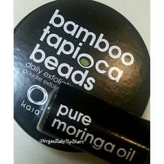 Trying out these goodies from @kaianaturals   Bamboo Tapioca Beads Face cleanser + Pure Moringa Oil Insta review: Kaia Naturals is a Cruelty-Free company The Bamboo Tapioca Beads Face cleanser +...