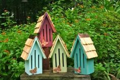butterfly houses would go well in my planned birdhouse/feeder garden  area.