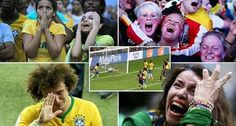Host #team #Brazil was humiliated by #Germany from 7-1 and #dream of Brazil #winning the #WorldCup on home soil was bursted. On Wednesday #morning, Brazil suffered a humiliating 7-1 #loss to ruthless #Germany in an extraordinary #semifinal in #BeloHorizonte. http://bit.ly/1meo1jd