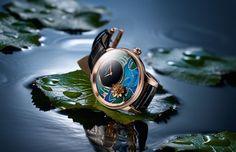 Jaquet Droz - Petite Heure Minute Relief Carps luxury watch
