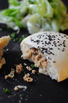 Buns au poulet rôti - Blog de cuisine créative, recettes / popotte de Manue
