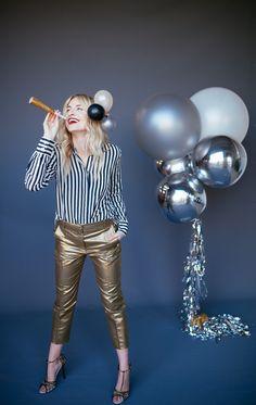 Balloon Set : Silver + Pearl ©Kelli Avila
