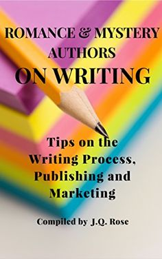 "Romance and Mystery Authors on Writing: Tips on the Writi... https://www.amazon.com/dp/B00WFFO716/ref=cm_sw_r_pi_dp_x_ahF2xb0AH9RQB -Need some help with your writing? Fifteen romance and mystery authors share writing tips they have gleaned from their experiences as ""on-the-job"" writers. The tips are organized into the main topics of writing, publishing, and marketing."