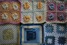 A small mountain of Granny Squares from Sapporo