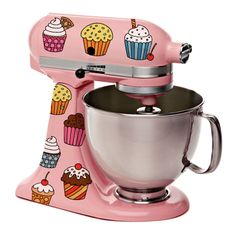 Cupcake decals on stand mixer (or whatever!) I believe this falls under the category of 'need.' :)