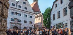 Streetfood am Grünmarkt Steyr, Mai, Austria, Street View, City, Shopping, Tourism, Viajes, Cities