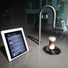 Futuristic smart kitchen