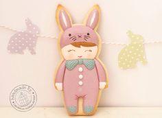 Cutest little bunny by Las Dulces Recetas de Mari!